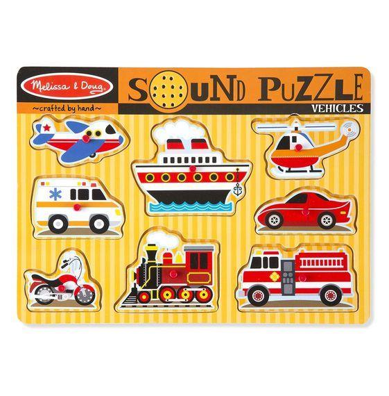 Melissa & Doug: Vehicle Sound Puzzle image