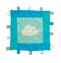 Plush Cloud - Security Blanket - Blue
