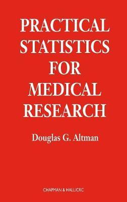 Practical Statistics for Medical Research by Douglas G. Altman image