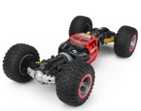 Monster Off-Road - 1:18 Scale Transforming R/C Car (Red)