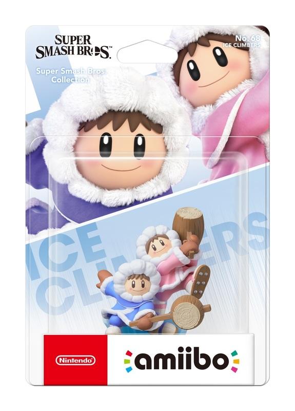 Nintendo Amiibo Ice Climbers - Super Smash Bros Ultimate for