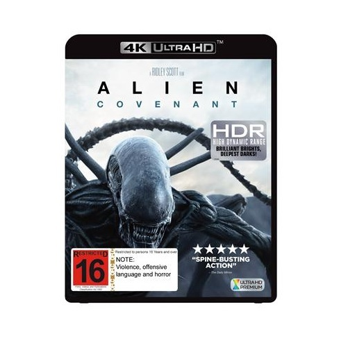 Alien: Covenant on UHD Blu-ray