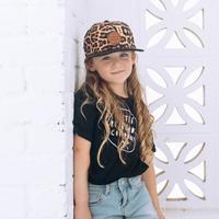 Little Renegade Company: Leopard Print Cap - Maxi image