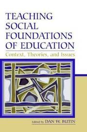 Teaching Social Foundations of Education image