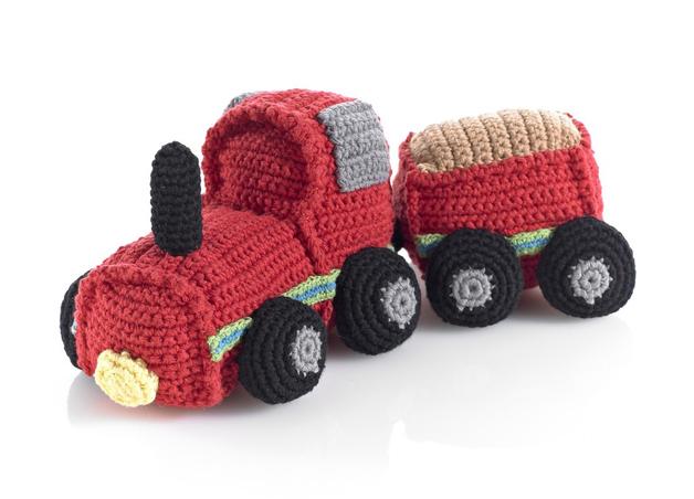 Pebble Crochet Train
