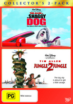 Shaggy Dog (2006) / Jungle 2 Jungle - Collector's 2-Pack (2 Disc Set) on DVD