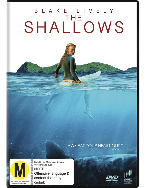 The Shallows on DVD