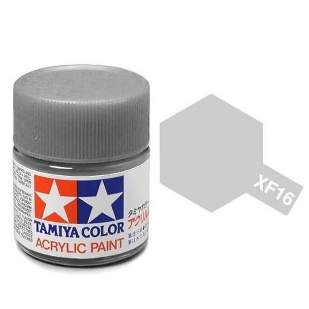 Tamiya Acrylic: Flat Alumin (XF16)