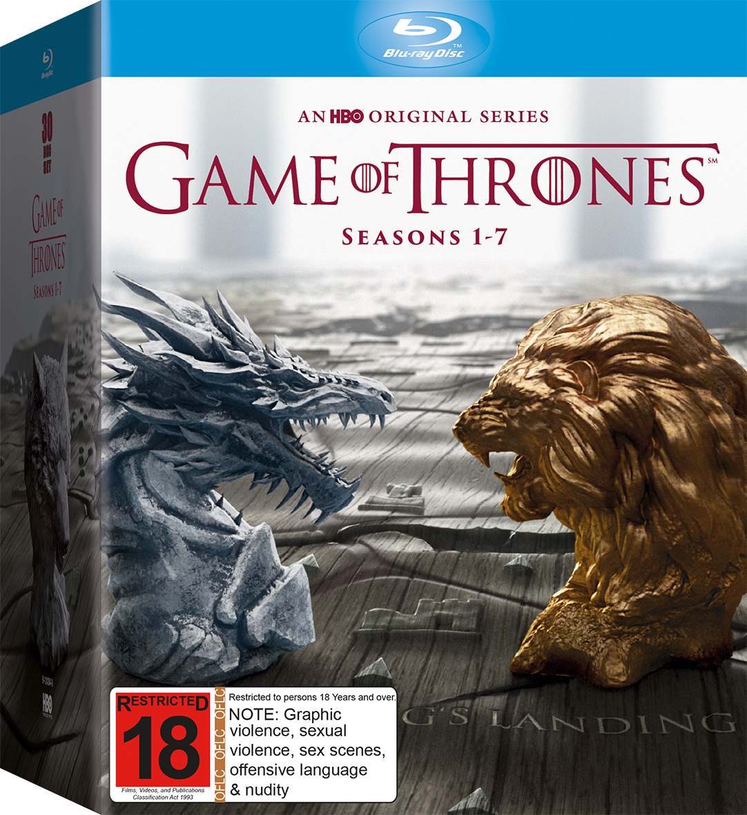 Game of Thrones - The Complete First, Second, Third, Fourth, Fifth, Sixth & Seventh Season Box Set on Blu-ray image