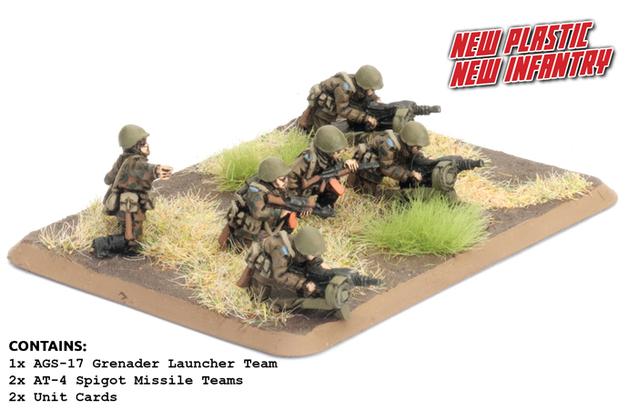 Team Yankee: Motor Rifle Heavy Weapons (Plastic)