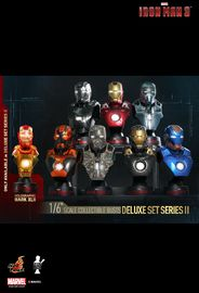 Marvel: Iron Man 3 (Series 2) - 1:6 Scale Bust Set