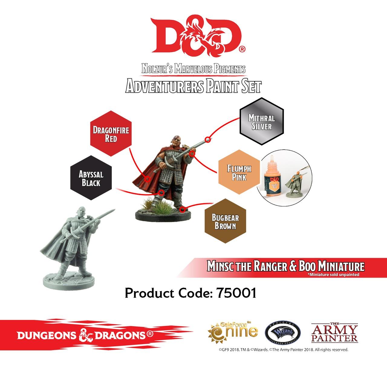 Army Painter D&D Adventurers Paint Set image