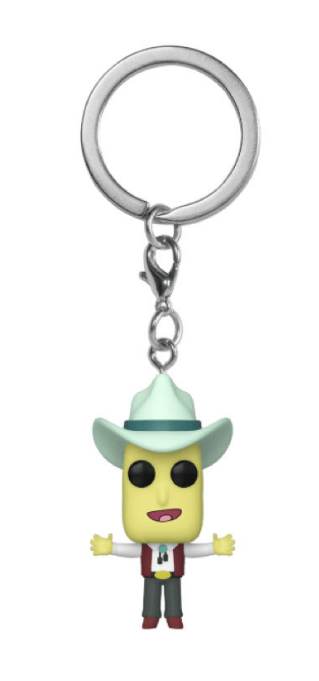 Rick & Morty: Mr Poopy Butthole (Auctioneer) - Pocket Pop! Keychain