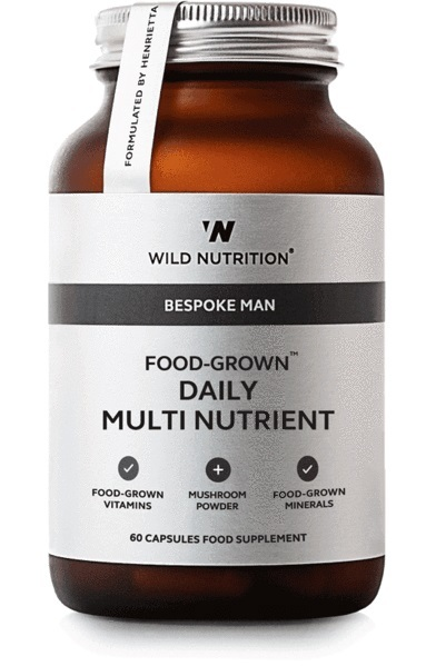 Wild Nutrition Food Grown Mens Daily Multi Nutrient (60 Caps)