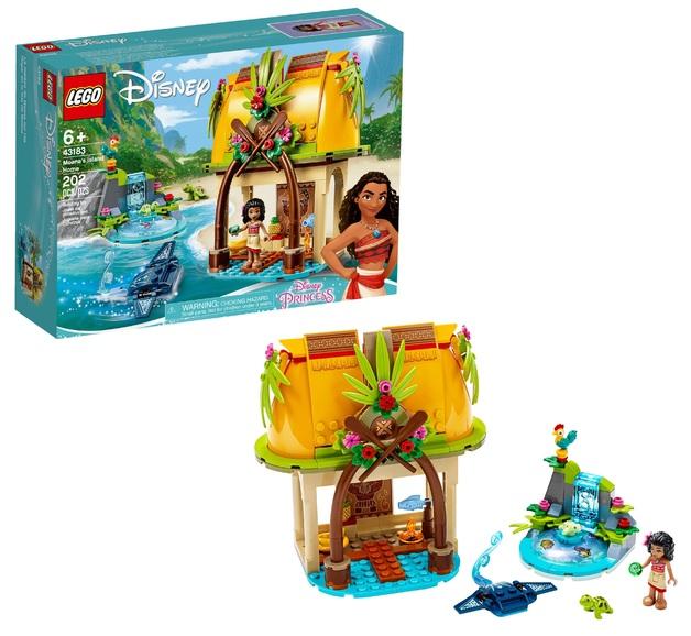 LEGO Disney: Moana's Island Home - (43183)