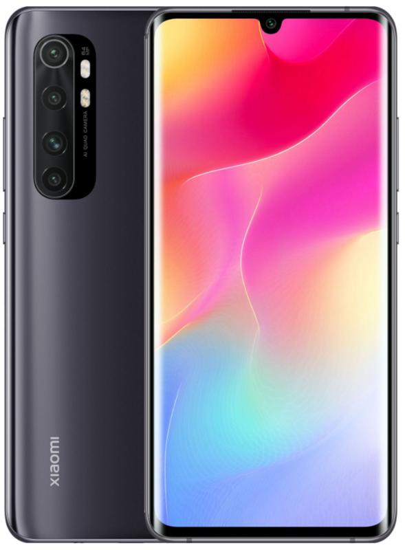 Xiaomi: Mi Note 10 Lite - 128GB/8GB RAM (Midnight Black)
