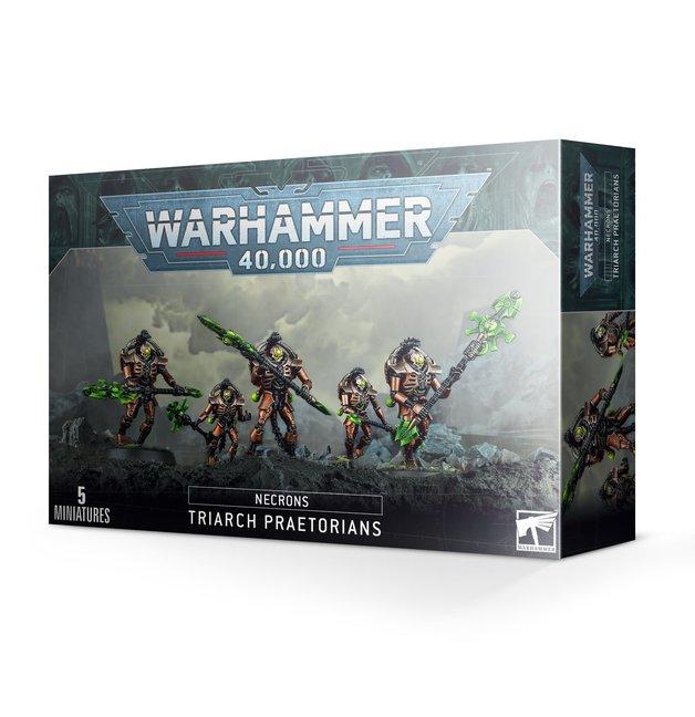 Warhammer 40,000 Necron Triarch Praetorians/Lychguard