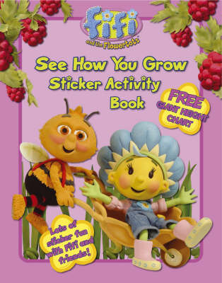 See How You Grow: Sticker Activity Book image