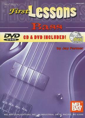 First Lessons Bass by Jay Farmer image