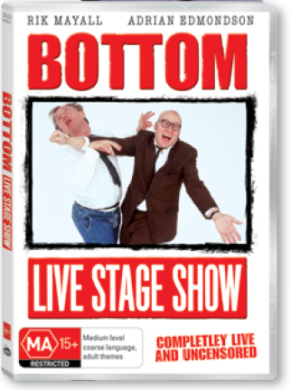 Bottom - The Live Stage Show from 1993 on DVD image