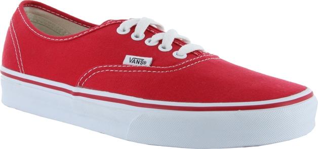 8d1fd02308b20c Vans Authentic Shoes (Red - Size 4)