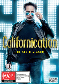 Californication - The Sixth Season on DVD