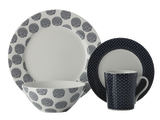 Maxwell & Williams - Print Indigo Dinner Set (16 Piece)