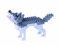 nanoblock: Gray Wolf