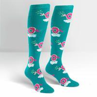 Womens - Donuticorn Knee High Socks
