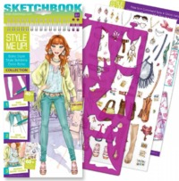 Style Me Up! - Small Sketchbook (Boho Style)