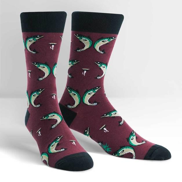 Men's - Feelin' Fly Crew Socks