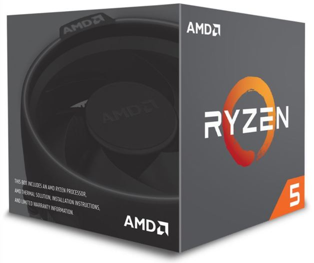 AMD Ryzen 5 2600 6-Core CPU