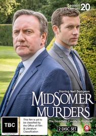 Midsomer Murders: Season 20 - Part 1 on DVD