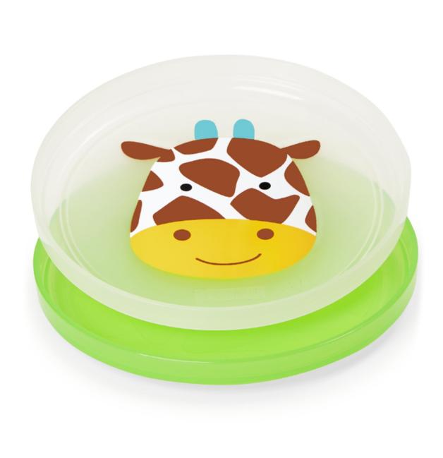 Skip Hop: Zoo - Smart Serve Plates Set (Giraffe)