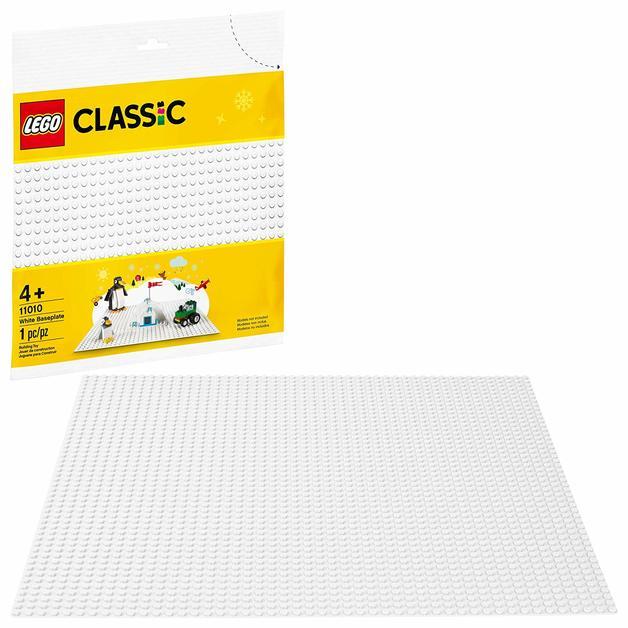 LEGO Classic: White Baseplate - (11010)