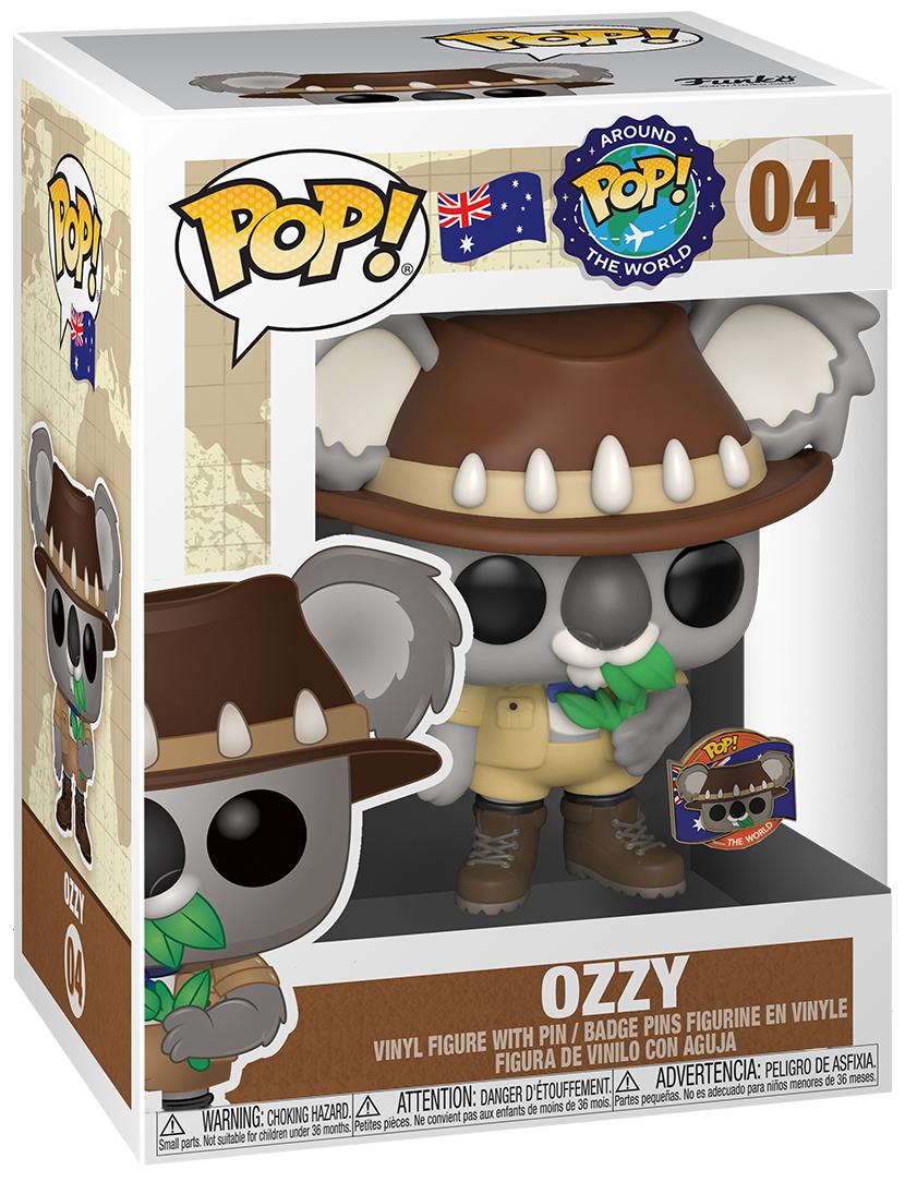 Around the World - Ozzy (Australian Koala) Pop! Vinyl Figure + Pin image