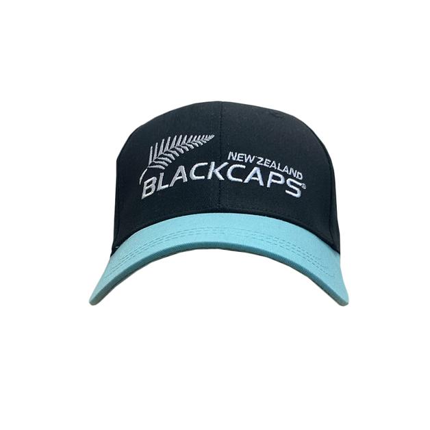 Blackcaps Cap - Black/Teal