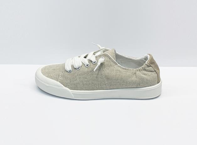 Betty Basics: Sail Sneaker - Linen (Size 39)