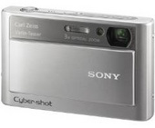 Sony DSCT20S 8.1 MP Digital Camera - Silver