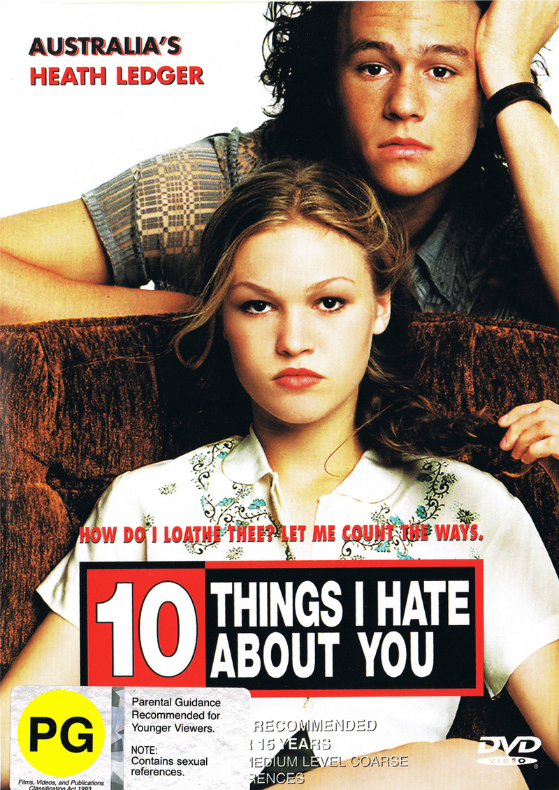 10 Things I Hate About You on DVD image