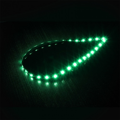 Bitfenix Alchemy Connect Green LED Strips- 600mm, Green color, 30x LEDs. Chainable.