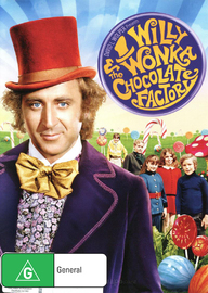 Willy Wonka and the Chocolate Factory on DVD