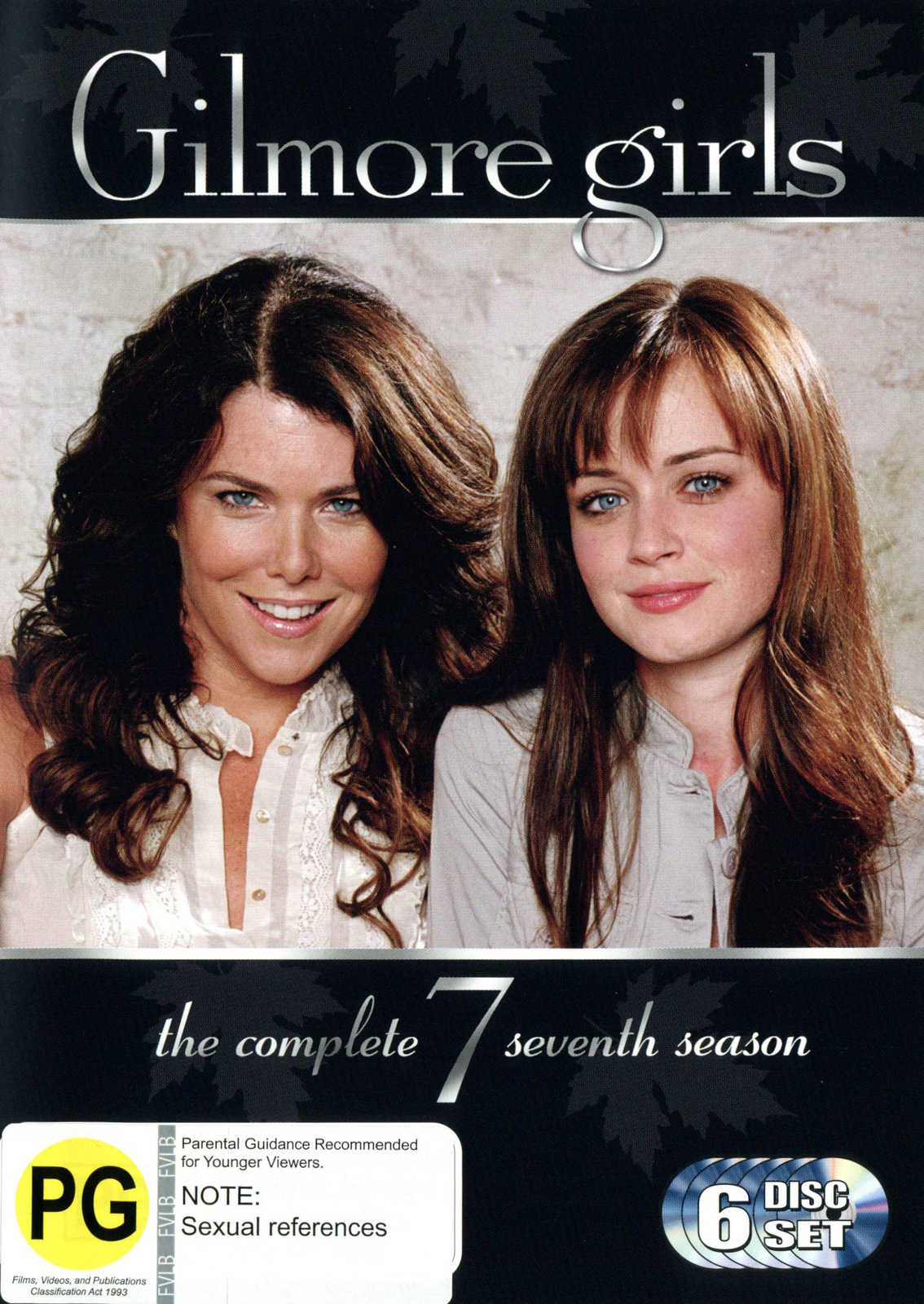 gilmore girls the complete seventh season 6 disc set new packaging dvd in stock buy. Black Bedroom Furniture Sets. Home Design Ideas