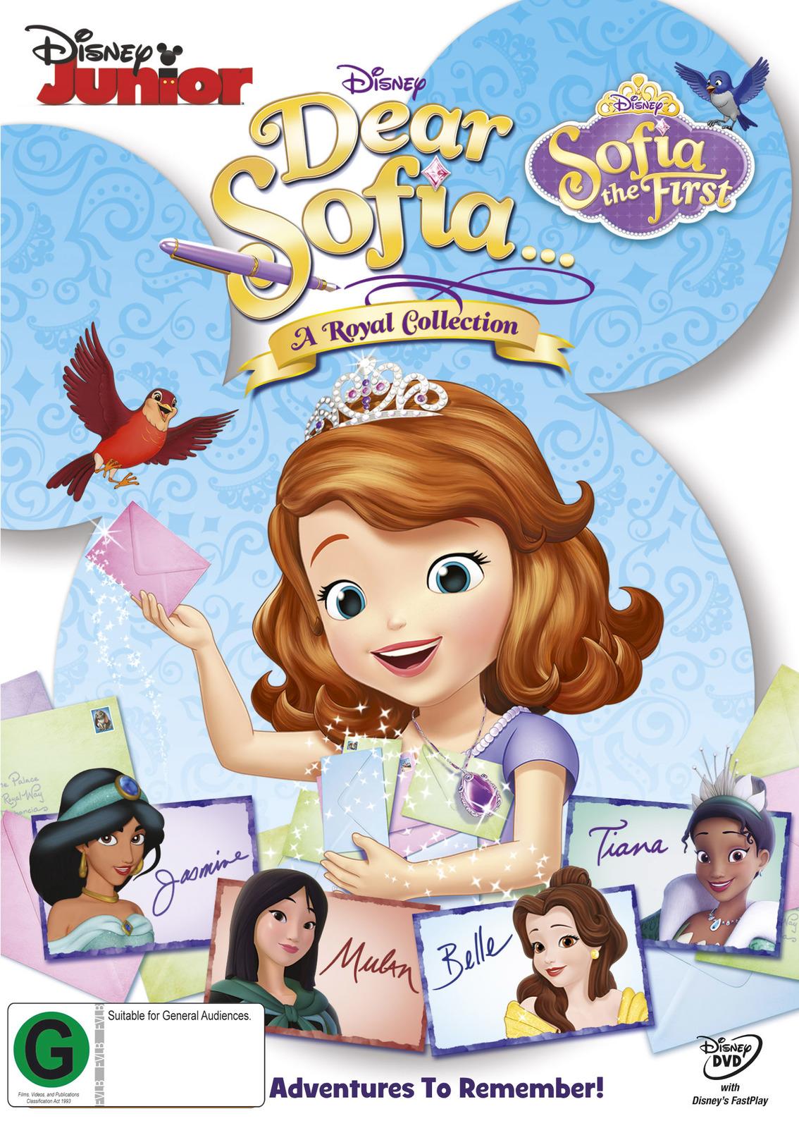 Dear Sofia: A Royal Collection on DVD image