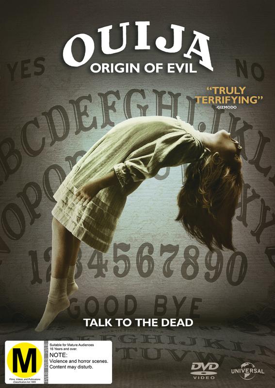Ouija 2: Origin of Evil on DVD