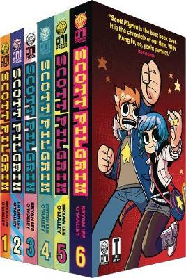 Scott Pilgrim S Precious Little Box Set Complete Volumes 1 6 Poster Bryan Lee O Malley Book Buy Now At Mighty Ape Australia