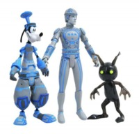 Kingdom Hearts: Select Action 3-Pack - Goofy/Tron/Heartless