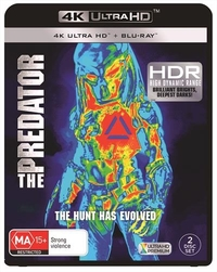 The Predator (2018) on UHD Blu-ray