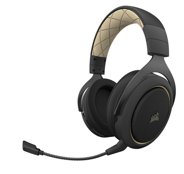 Corsair HS70 Pro Wireless Gaming Headset (Cream) for PC