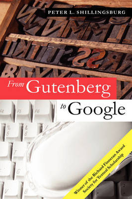 From Gutenberg to Google by Peter L. Shillingsburg image
